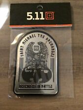 """5.11 TACTICAL """"Saint Michael"""" Metal Patch. Free Shipping. Military/morale Item!!"""