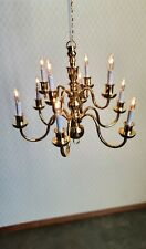 1//12 Dolls House Light 12 ARM CHANDELIER /'ELITE RANGE/' LT8002 Gold