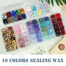 10 Mix Colors Sealing Wax Beads For Seal Stamp Wedding Envelope Invitation Card