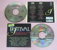 2 CD Compilation FESTIVAL ITALIANO '94 1994 JO SQUILLO NEK BUNGARO no lp mc(C41)