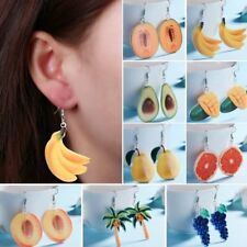 Chic Strawberry Pineapple Fruit Earrings Drop Dangle Hook Stud Women Jewelry New