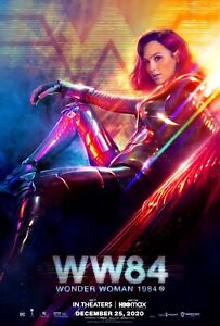"Wonder Woman 1984 Movie Poster Print 11""x17"" Gal Gadot 2020 WW84 Photo BRAND NEW"
