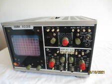 ++ alter 2-Kanal Oszilloskop, RFT EO 213, Made in DDR, gebraucht ++