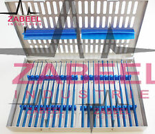 Rhoton micro dissector expanded 20 pcs set Plasma coating Titanium steel case ZI