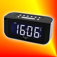 Soundmaster FUR 4005 Radiowecker Funkuhrenradio mit 2 Weckzeiten, Jumbo-LED, PLL