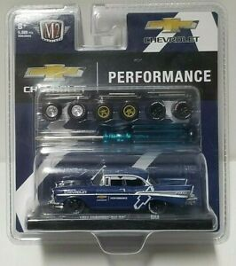M2 Chevrolet Performance 1957 Chevrolet Bel Air Blue LE 5000