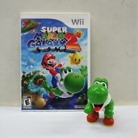 Super Mario Galaxy 2 (Nintendo Wii, 2010) Complete With Manual + BONUS TOY! (QW)