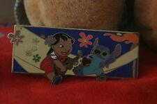 Disney Auctions Lilo and Stitch Jumbo Group Hammock Flowers Pin LE 100 Hammock
