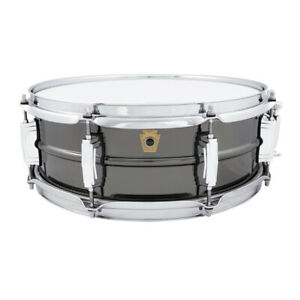 Ludwig LB414 5x14 Black Beauty 8-Lug Snare Drum
