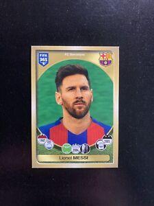 LIONEL MESSI - #71, Panini FIFA 365: 2016/2017, Rare Sticker, MINT, Barcelona