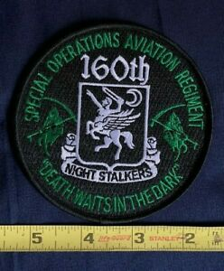 US ARMY 160th Soar Regiment Night Stalkers Military Patch