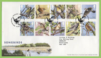 G.B. 2017 Songbirds set on Royal Mail First Day Covers, Tallents House
