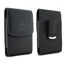 Vertical Leather Case Holster For BlackBerry Leap