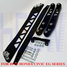 FOR 88-95 HONDA CIVIC BILLET REAR CONTROL ARM SUBFRAME BRACE TIE BAR LCA /EG BWR