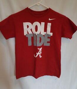 Nike Alabama Roll Tide Youth Shirt Size Medium