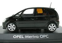 MINICHAMPS - OPEL Meriva OPC - schwarz black - 1:43 - in OVP / Box - Modellauto