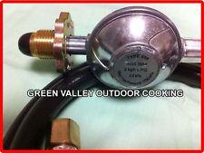 QUALITY LPG Regulator 1.8M HOSE GAS WOK BURNER STOVE BBQ (1800mm)