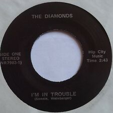 THE DIAMONDS ~ PRIVATE garage OHIO? 45 ~ SUPER RARE ~ HEAR IT! beatles