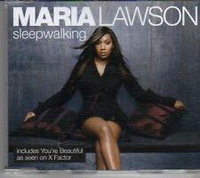 (CK879) Maria Lawson, Sleep Walking - 2006 CD