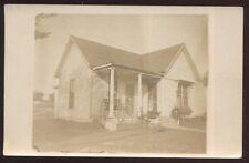 RP Postcard BOWIE Texas/TX  Small House/Home Terrant Street 2 views 1910's?