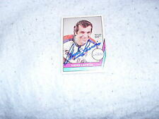 1977-78 SIGNED ANDRE LACROIX O PEE CHEE CARD  HOUSTON AEROS  WHA COA