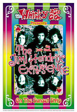 Classic Rock: Jimi Hendrix Whisky A Go Go in L.A. Poster 1967 13 3/4 x 19 3/4
