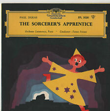 "Paul Dukas - The Sorcerers Apprentice 7"" Ep 1957"