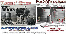 Scale Model Masterpieces VERTICAL ROUND STEEL TANK-Large Multi Scale