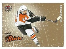Daniel Briere Fleer 2008/09 Ultra Gold Medallion Card, Philadelphia Flyers # 69