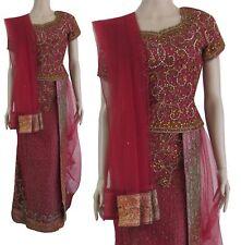 Party Wear Indian Pakistani Bollywood Lehenga Choli Party Fishtail Ethnic Suit