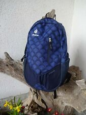 DEUTER Nomi*all-around city backpack*Tagesrucksack*blau gemustert*Top*