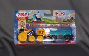 Thomas & Friends Wooden Railway Stephen and the Castle Coach (2013) New