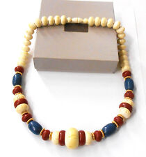 VINTAGE AVON INDIAN SUMMER NATURALS NECKLACE 1985 NEW OLD STOCK GORGEOUS COLORS