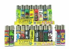 8 X Original Brand Clipper Lighters Full Size Refillable - Mix Style