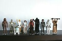 Vintage Star Wars Set of 1st Twelve figures made in 1977 all w/original weapons!