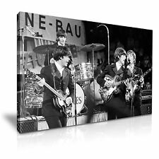 THE BEATLES Music Canvas Framed Print 30X20 INCH / 76x50CM