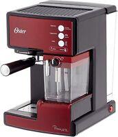 Oster Prima Cafetera automática para Cappuccino, Latte y Espresso Acero Inoxidab
