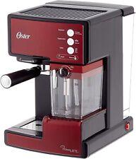 Oster Prima Coffee Maker Automatic for Cappuccino, Latte And Espresso Steel