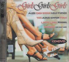 Alizee,Nelly Furtado,tatu,Ashlee Simpson,Lindsay lohan,Rihanna,Sugababes CD+DVD