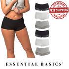 Women Lace BoyShorts Panties Underwear| Comfortable Fit | S M L XL | 6 Pack