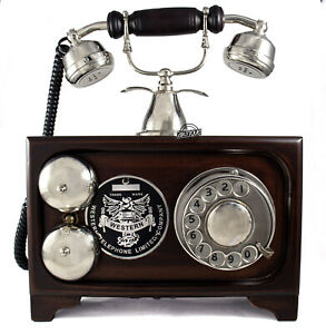 Home Decoration Telephone Landline Rotary Dial Vintage Desktop Gifts Telephone