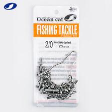 40-100 Pcs Fishing Japan Sleeves Cross-line Crane Swivel 3 Way T-Shape Snaps