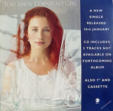 TORI AMOS POSTER Cornflake Girl UK PROMO ONLY Poster Window Display UK Rare
