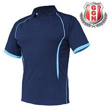 3x Mens Polo Shirts SPORTS WORK CLUB GYM TEAM TRADIES OFFICE ACTIVE UNIFORM