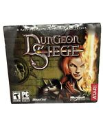 Vintage Dungeon Siege PC CD-ROM (2002)Role Playing Game Atari Microsoft New.