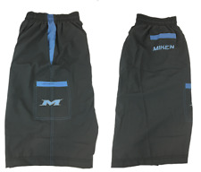 Miken Microfiber Shorts Grey/Carolina Blue 2XL