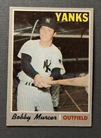 1970 Topps #333 Bobby Murcer New York Yankees VGEX