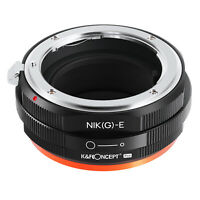 K&F Concept adapter Pro for Nikon G mount lens to Sony E mount a6000 A7R2 A73