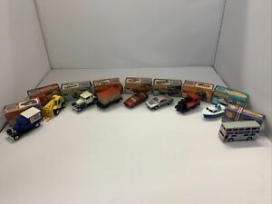 Vintage Job Lot collection Of Matchbox Superfast Boxed
