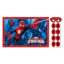 Spiderman fiesta juego como cola EN BURRO Spider-Man Artículos para Póster